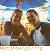 Great shopping & dining