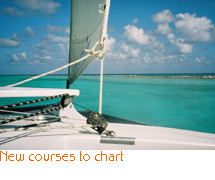 New courses to chart